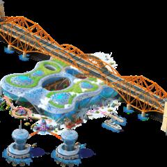 Alman Bridge with Tidal Power Plant