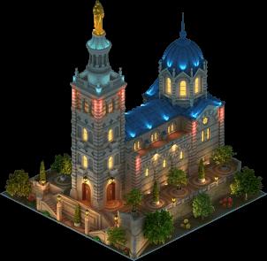 File:Notre-Dame de la Garde (Night).png