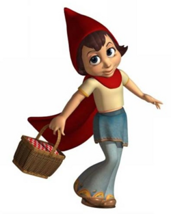 Red Riding Hood CG Art