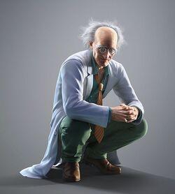 Dr. Bosconovitch CG Art