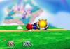 Mario Down smash SSB