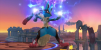 Mega Evolution (Lucario)