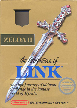 Zelda II The Adventure of Link boxart