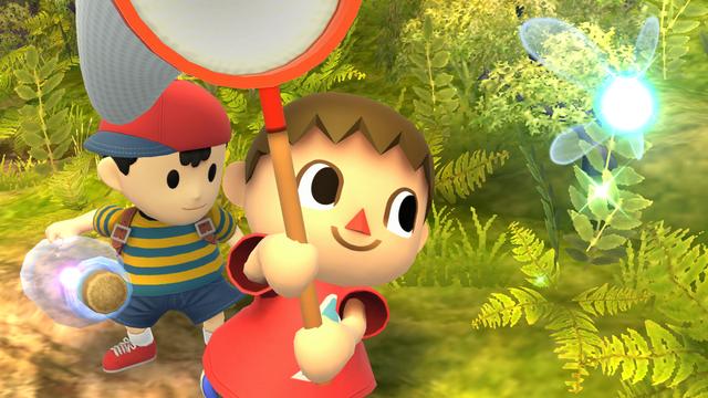 File:SSB4-Wii U Congratulations Villager Classic.png