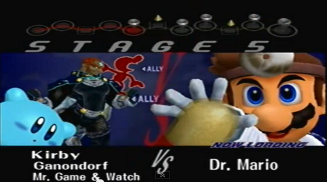 File:.028 Kirby Ganondorf Mr Game & Watch Dr Mario & Zachary.PNG