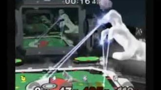SSBM Playable Master Hand Glitch