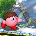 Villager Kirby (SSB3DS)