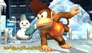 Diddy Kong Congratulations Screen Classic Mode Brawl