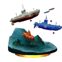 SSB3DSTrophySubmarines