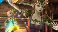 Rosalina and Luma with Zelda