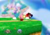Kirby Floor attack (back) SSB