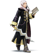 super smash bros wii u robin