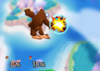 Donkey Kong Neutral aerial SSB