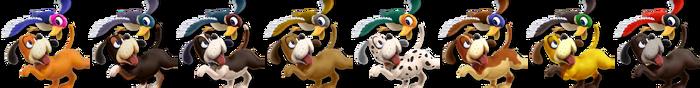 Duck Hunt Palette (SSB4)