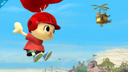 Villager's Up Special