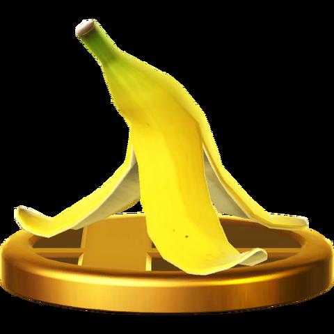 File:BananaPeelTrophyWiiU.png