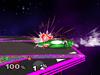 Yoshi Edge attack (slow) SSBM