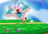 Kirby Back throw SSB