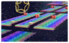 Rainbow Road Icon SSB3DS