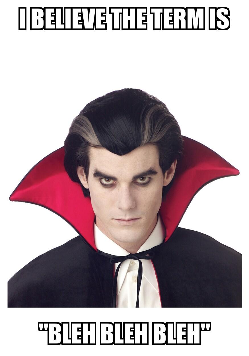 Image - Meme Count Dracula Bleh bleh bleh.jpg | Smashpedia ...
