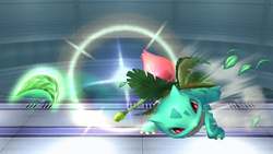 Ivysaur Razor Leaf Close SSBB
