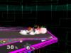 Ness Floor attack (back) SSBM
