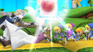 SSB4-Wii U Congratulations Corrin All-Star