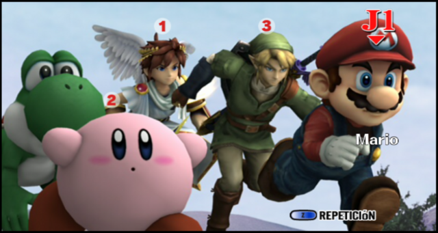 File:.028 Kirby Yoshi Mario Pit Link & Zachary.png