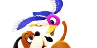 List of SSBWU trophies/Duck Hunt series