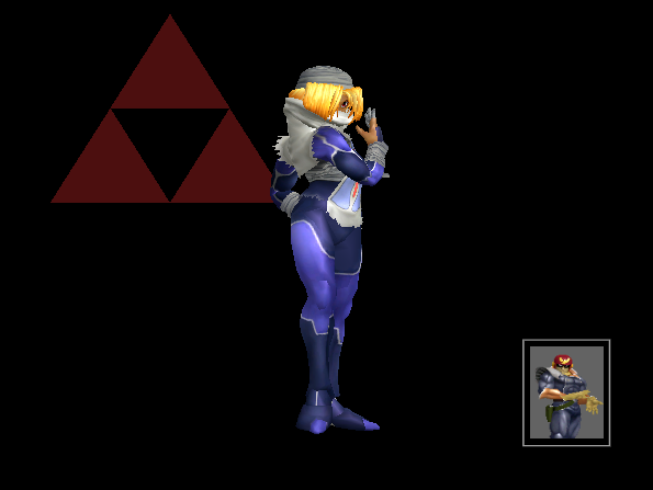 how to choose sheik in melee