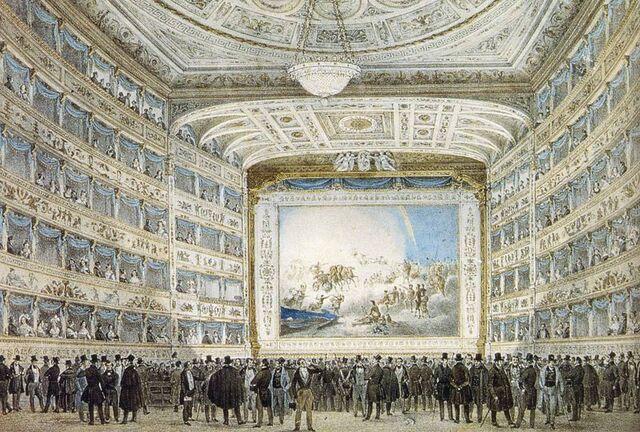 Bestand:Interior of La Fenice in 1837. Original.jpg