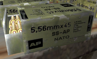 Build 1844 5.56x45mm SS-AP ammobox