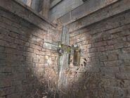 Secret stash under the cross wilds2 location