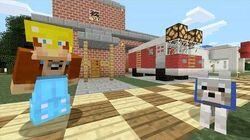 Minecraft Xbox - Fire Truck 213