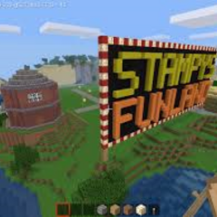Stampy's Funland Sign