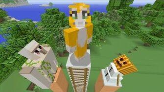 Minecraft Xbox - Golem Challenge