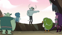 S2E12 Dogbull tells monsters to move out