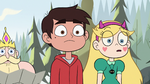 S2E10 Star Butterfly and Marco Diaz stop walking