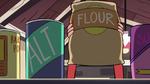 S2E24 Marco Diaz picks up a bag of flour