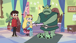 S2E11 Buff Frog gives his binder to Star Butterfly