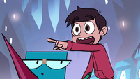 S1e2 marco pointing at the screen