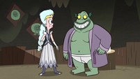 S3E5 Moon and Buff Frog smile at each other