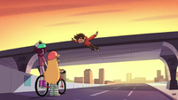 S2E5 Marco falls over edge of the overpass