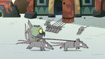 S2E35 Mewnian rats bowing to Ludo
