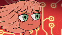 S2E17 Jackie Lynn Thomas smiling at Marco Diaz
