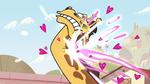 S1E16 Giraffe monster hit by magic blast