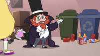 S2E29 Preston pointing at empty cans and bottles