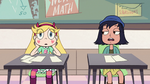S2E32 Star Butterfly suddenly back in her seat