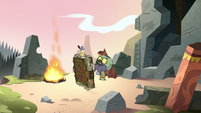 S3E3 Ludo wondering who destroyed his temple