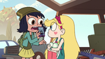 S2E16 Janna showing Star Butterfly the time